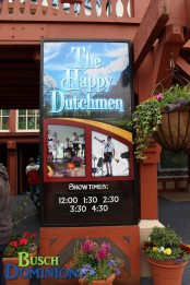 Happy Dutchmen Performing in Das Festhaus for one-week only.