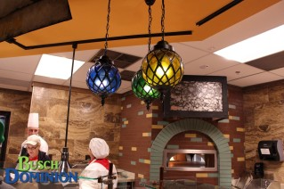 Awesome light fixtures.