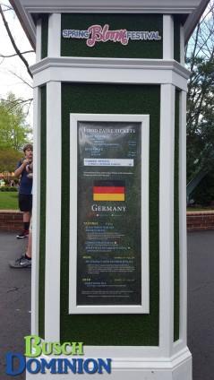 Germany menu