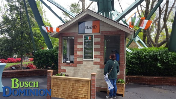 New Ireland booth