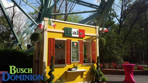 Italy booth